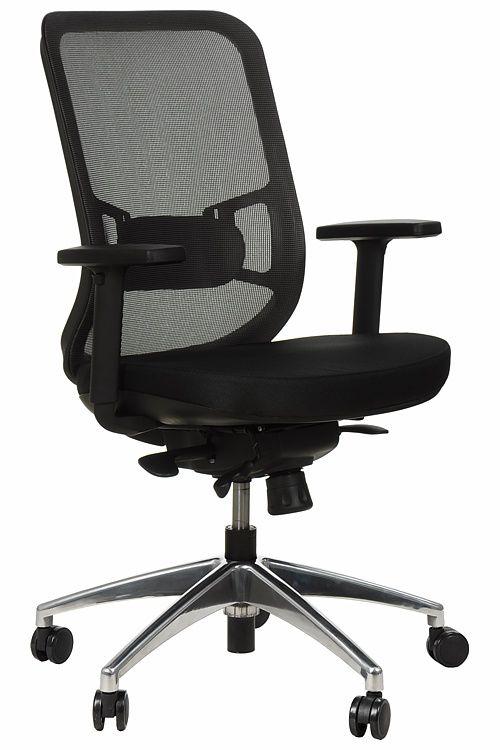 Fotel Biurowy Obrotowy EF-GN310 alu szary