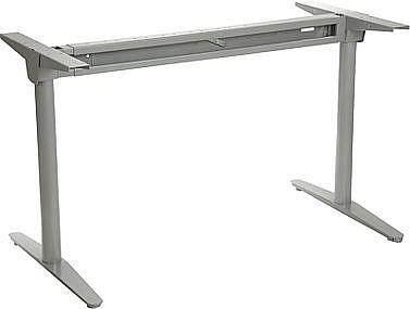 Stelaż skręcany do stołu i biurka EF-WT-102 aluminium - regulacja szerokości