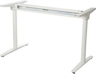 Stelaż skręcany do stołu i biurka EF-WT-102 biały - regulacja szerokości