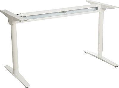 Stelaż skręcany do stołu i biurka EF-WT-301 biały - regulacja szerokości i wysokości
