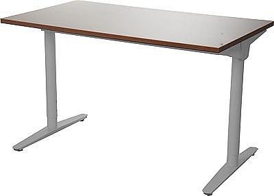 Stelaż skręcany do stołu i biurka EF-WT-301 aluminium - regulacja szerokości i wysokości