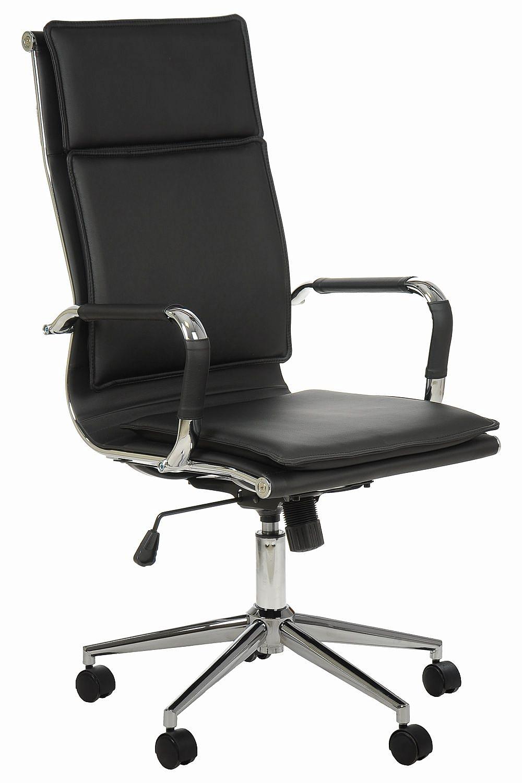 Fotel Biurowy Obrotowy Versal NE635 Czarny