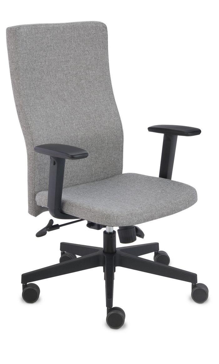 Fotel Biurowy obrotowy TEAM PLUS BLACK - różne tapicerki