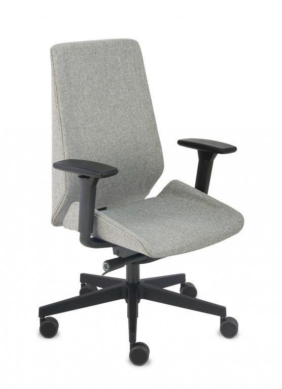 Fotel Biurowy obrotowy MOON BLACK - różne tapicerki