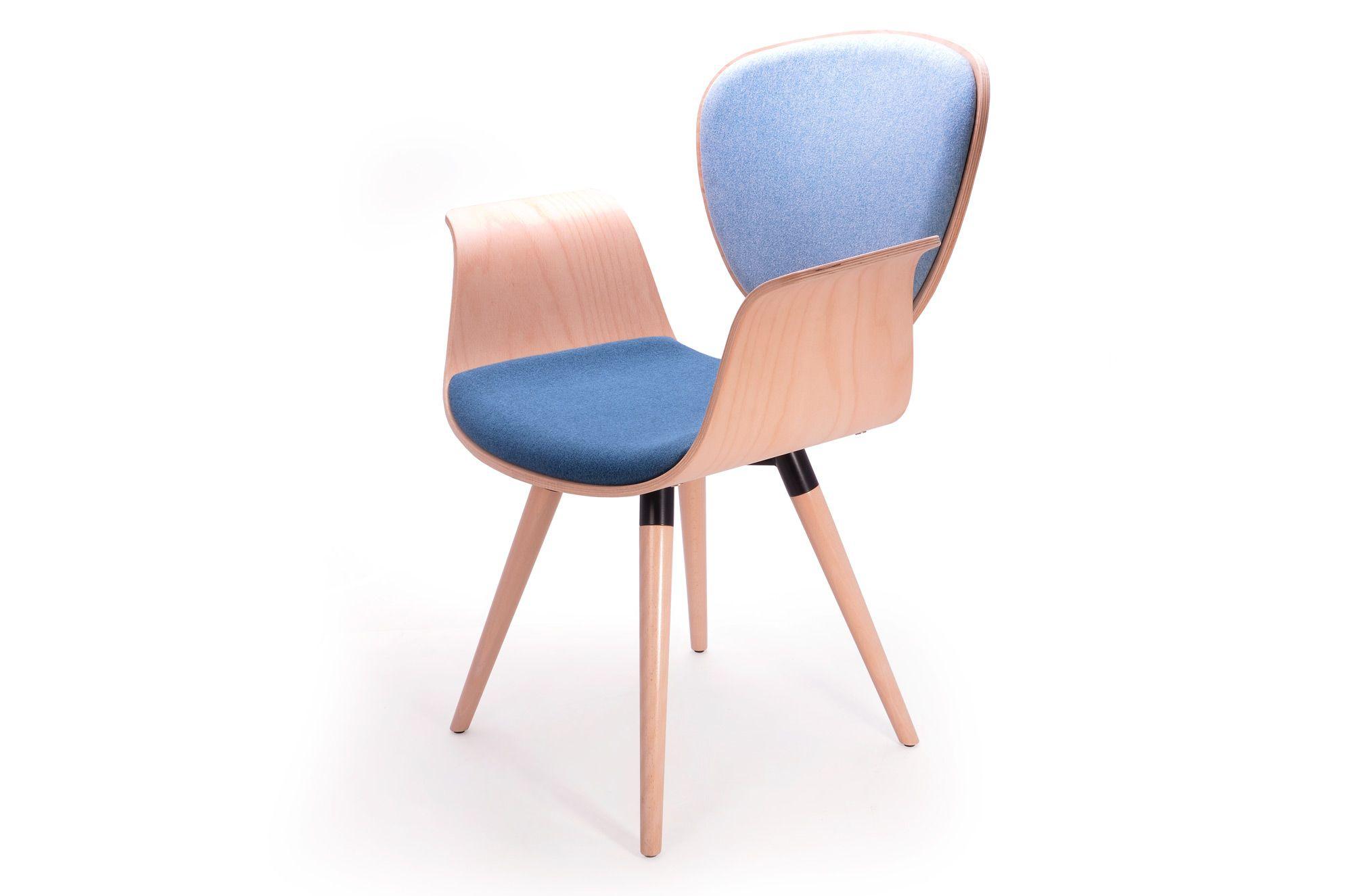 Krzesło konferencyjne Curly