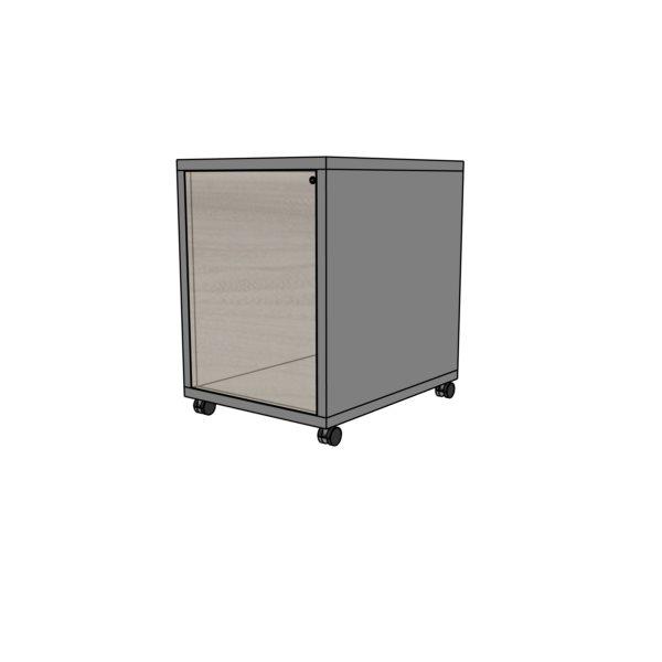"""Kontener  EVK 17-system """"push to open"""""""