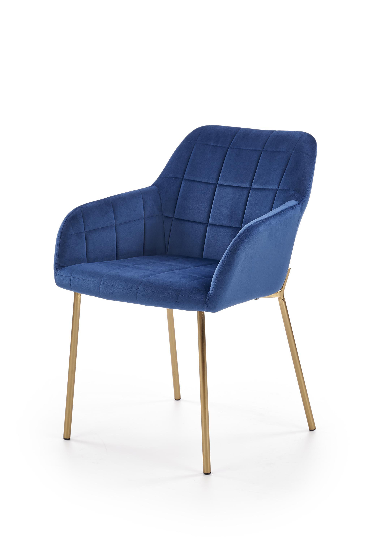 K306 krzesło złoty / granatowy (1p=2szt)