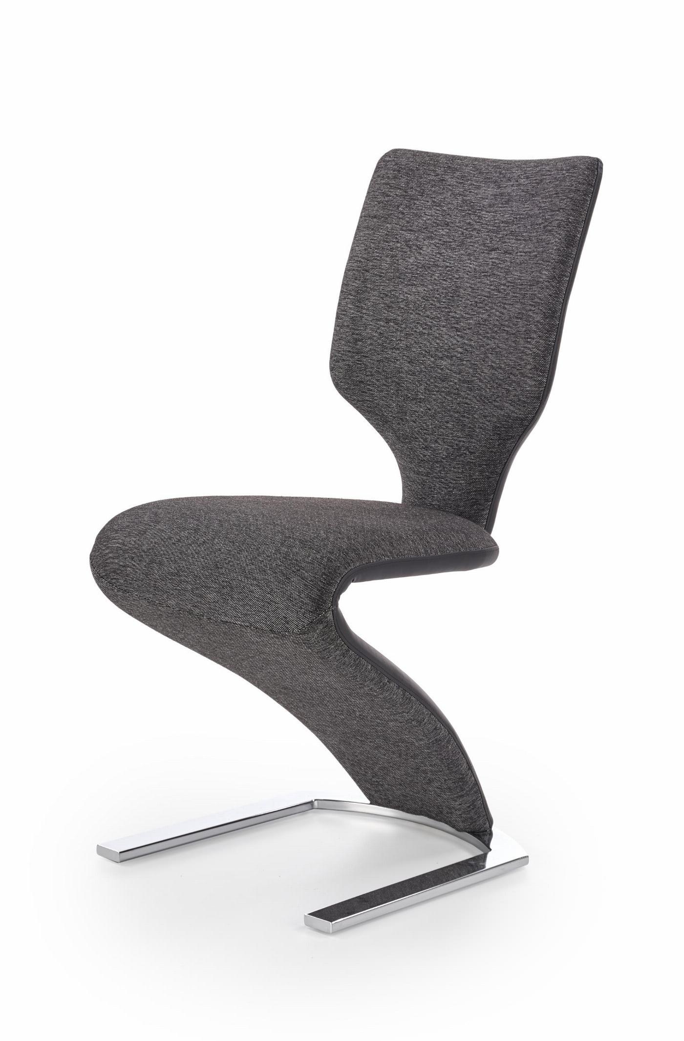 K307 krzesło czarny / ciemny popiel (1p=2szt)