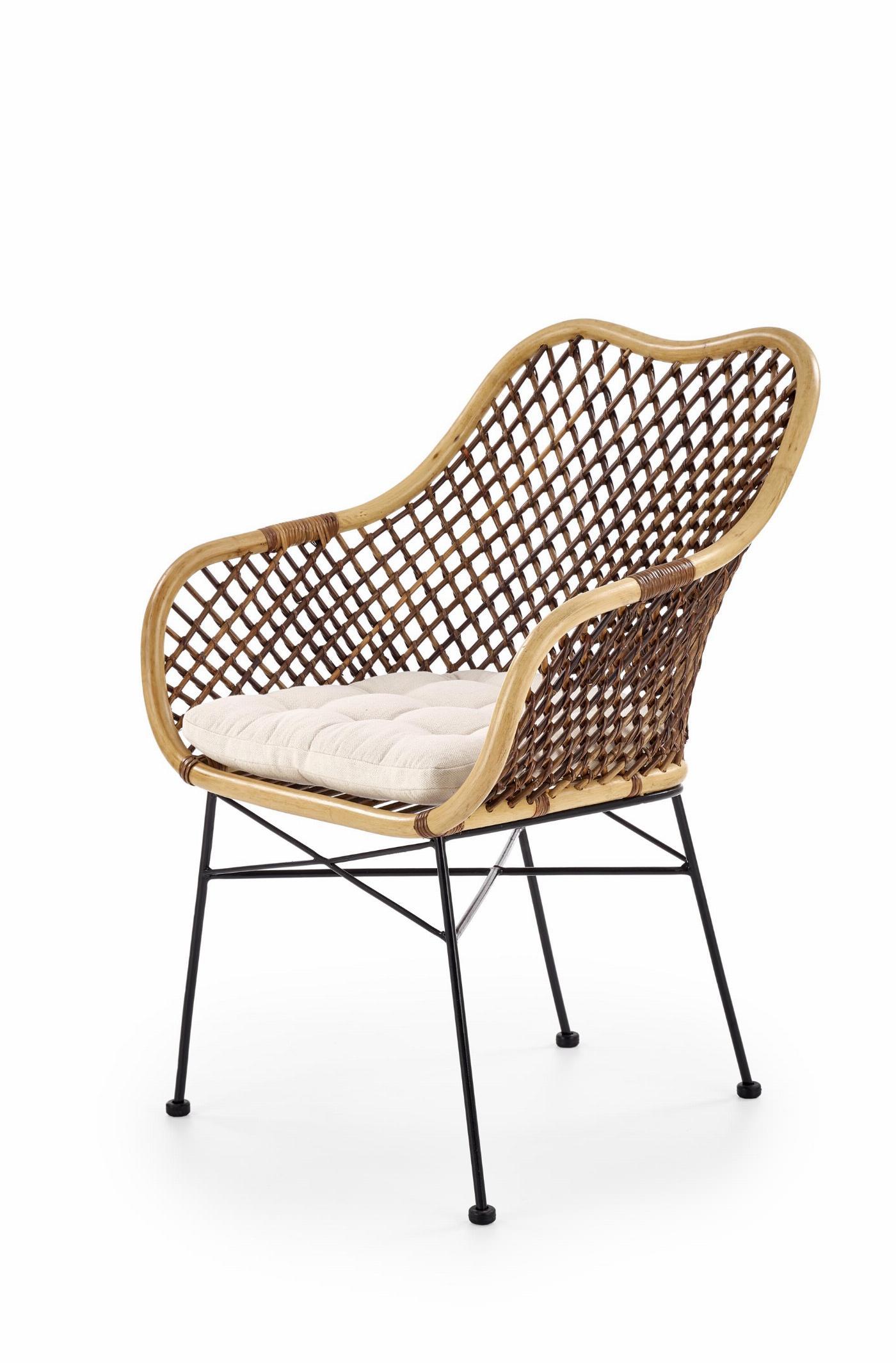 K336 krzesło rattan naturalny