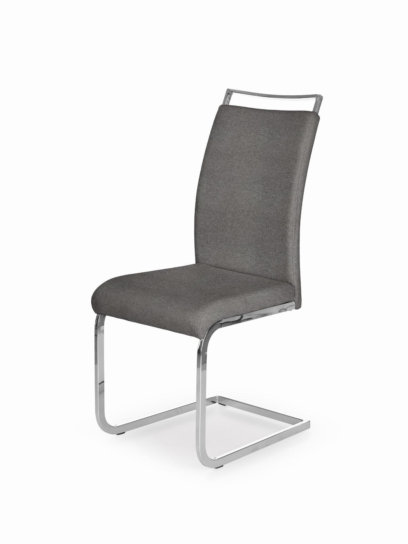 K348 krzesło popielate
