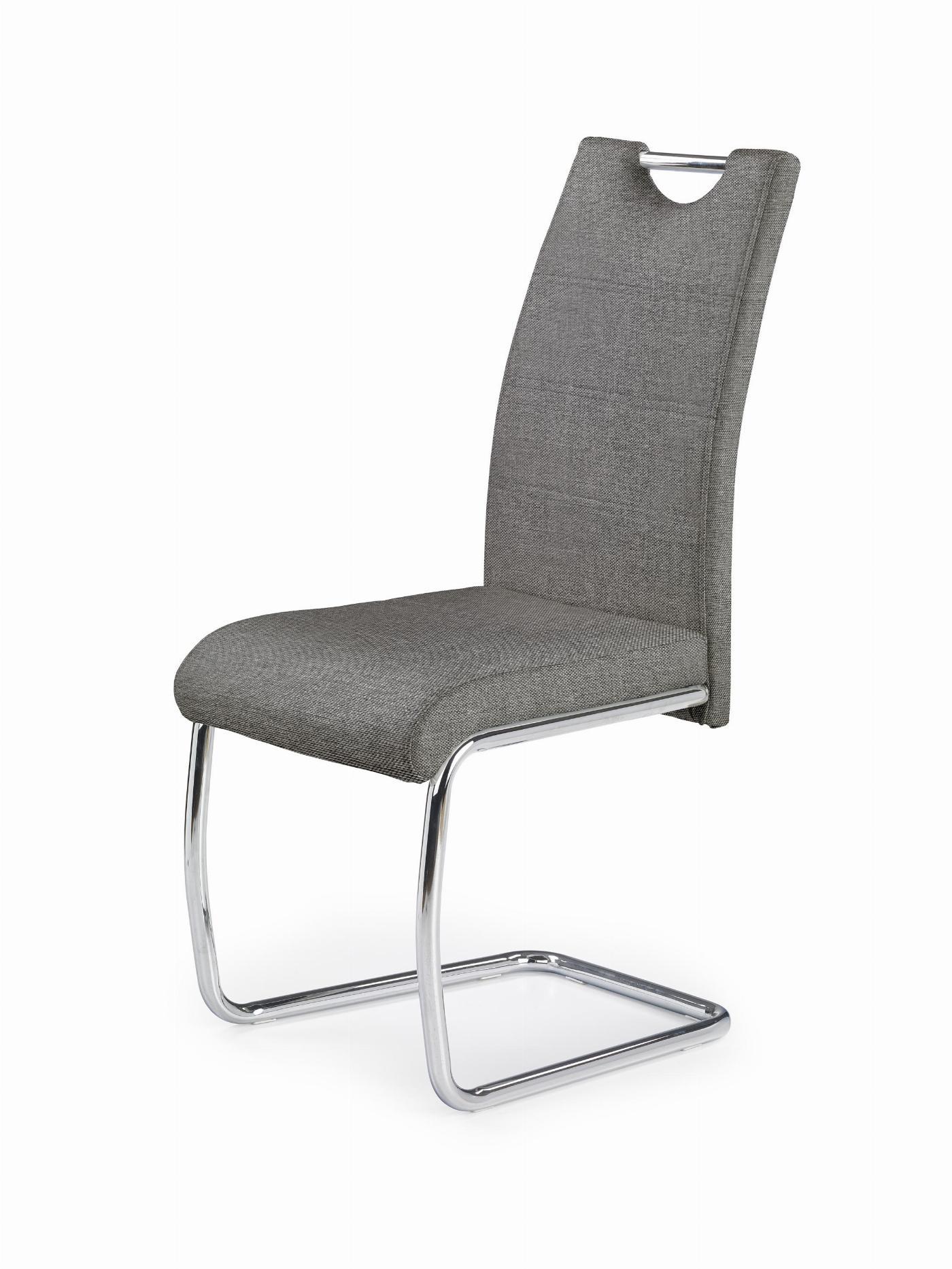 K349 krzesło popielaty