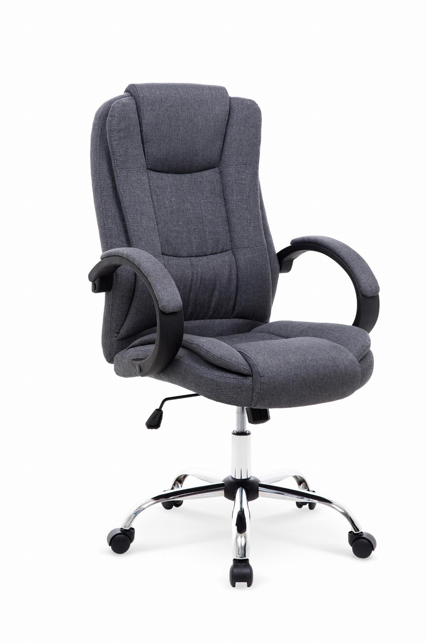 RELAX 2 fotel gabinetowy ciemny popielaty