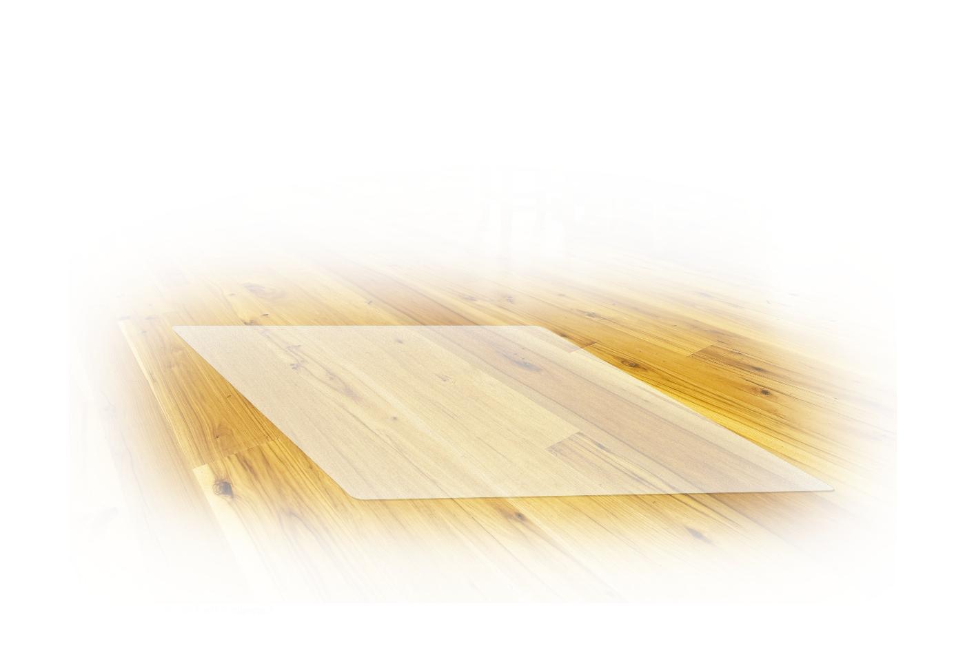 Mata ochronna 125x100 cm, poliwęglan, kolor: krystaliczna przejrzystość (1p=1szt)
