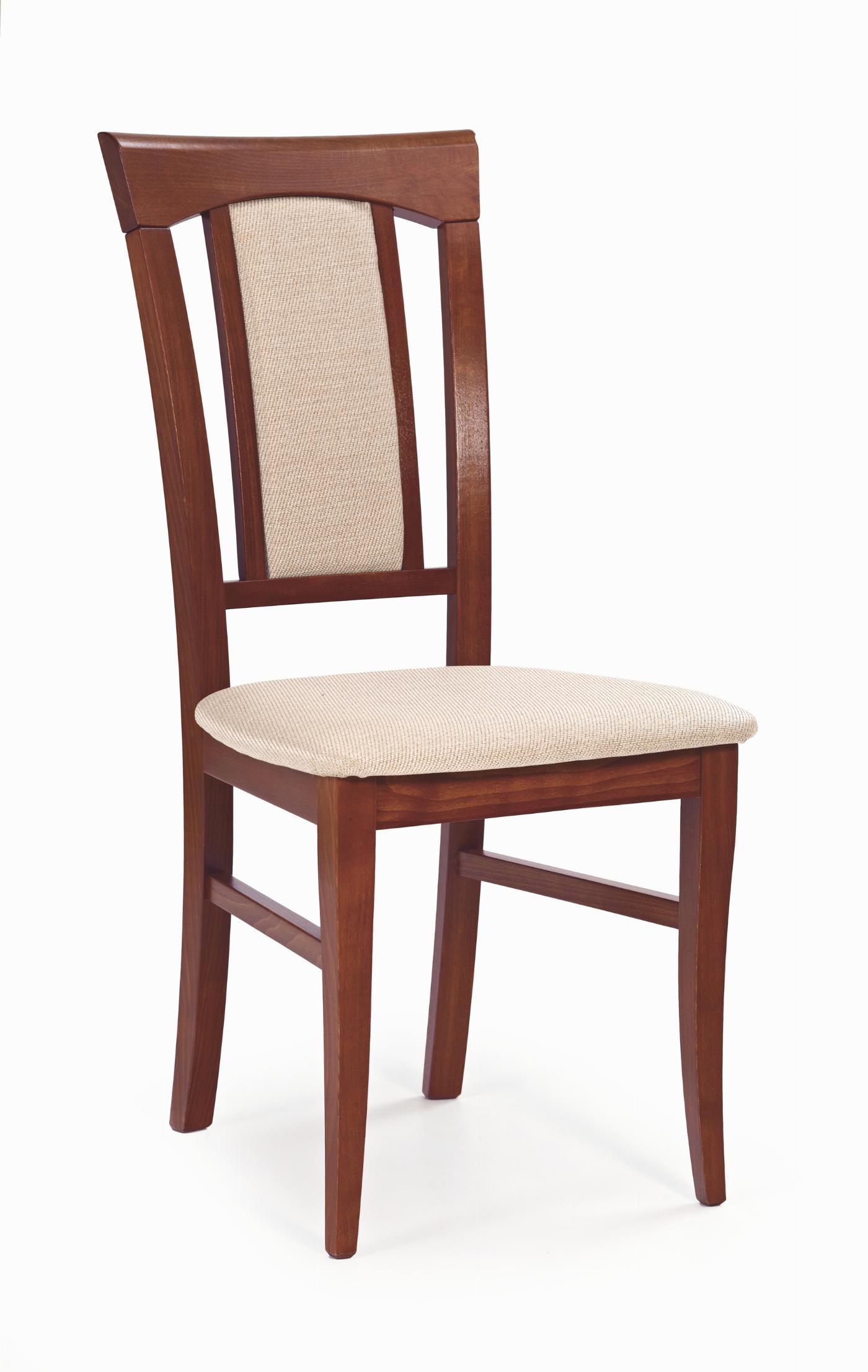 KONRAD krzesło czereśnia ant. II / tap: MESH 1 (1p=2szt)