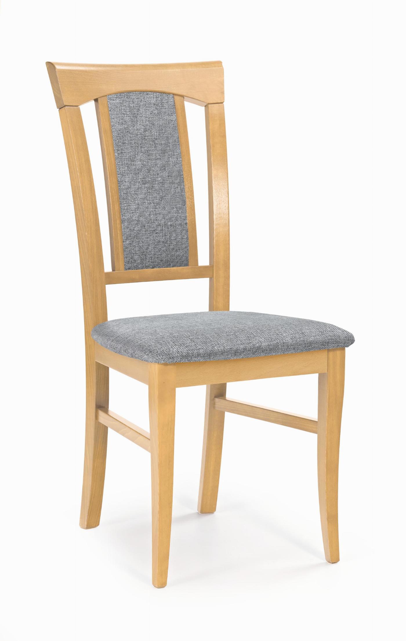 KONRAD krzesło dąb miodowy / tap: Inari 91 (1p=2szt)