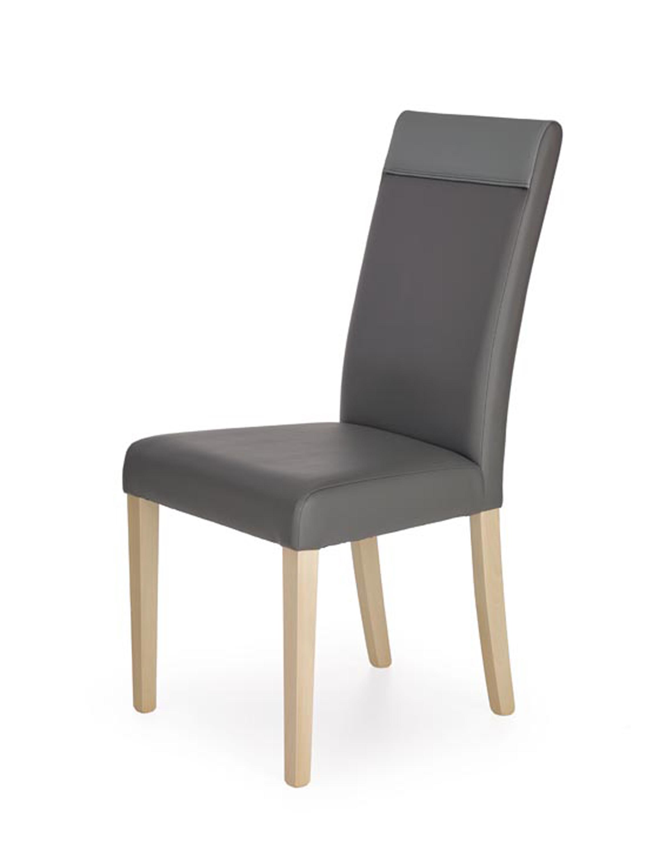 NORBERT krzesło dąb sonoma / tap. popiel (1p=2szt)