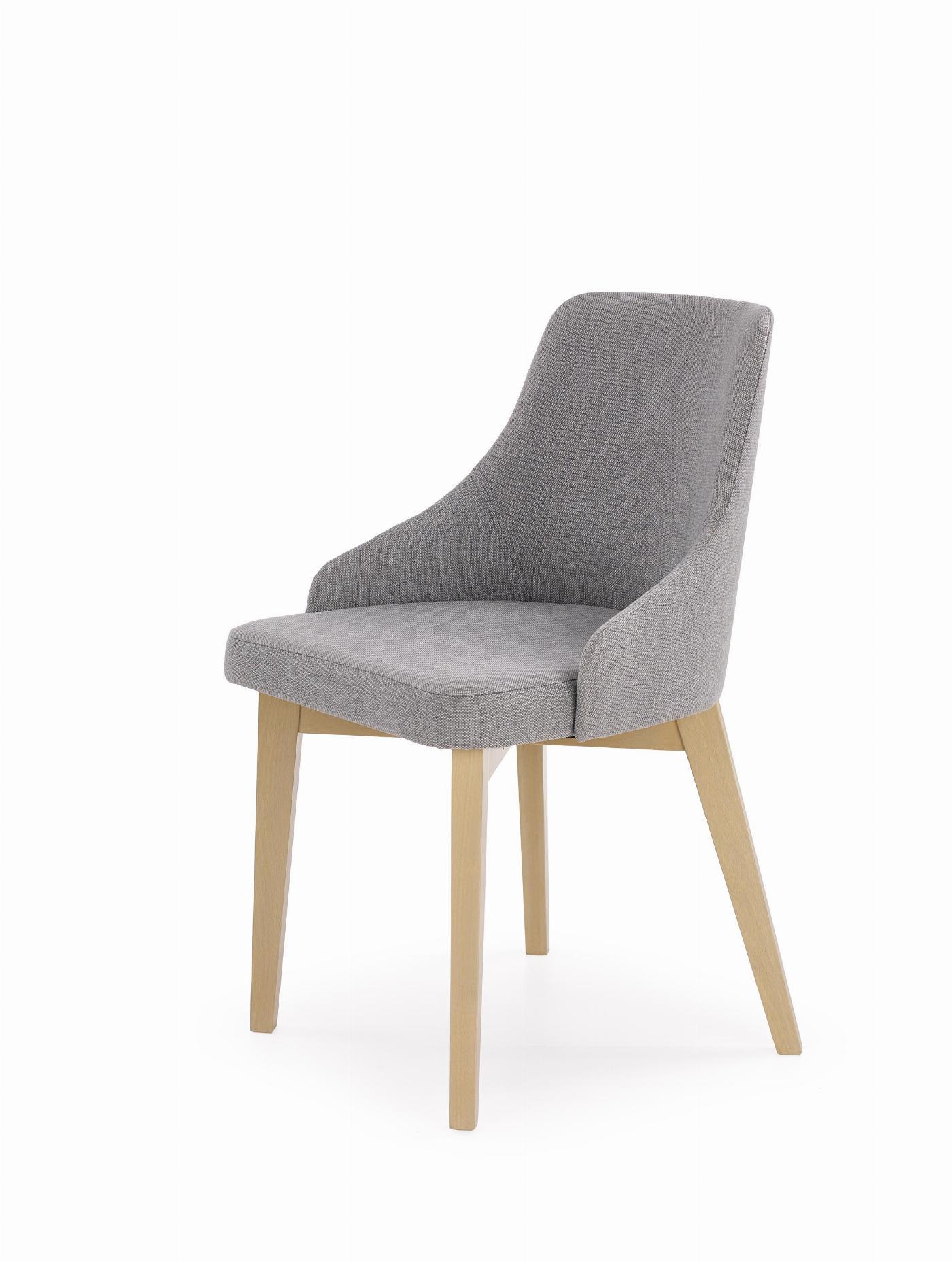 TOLEDO krzesło dąb sonoma / tap. Inari 91 (1p=1szt)
