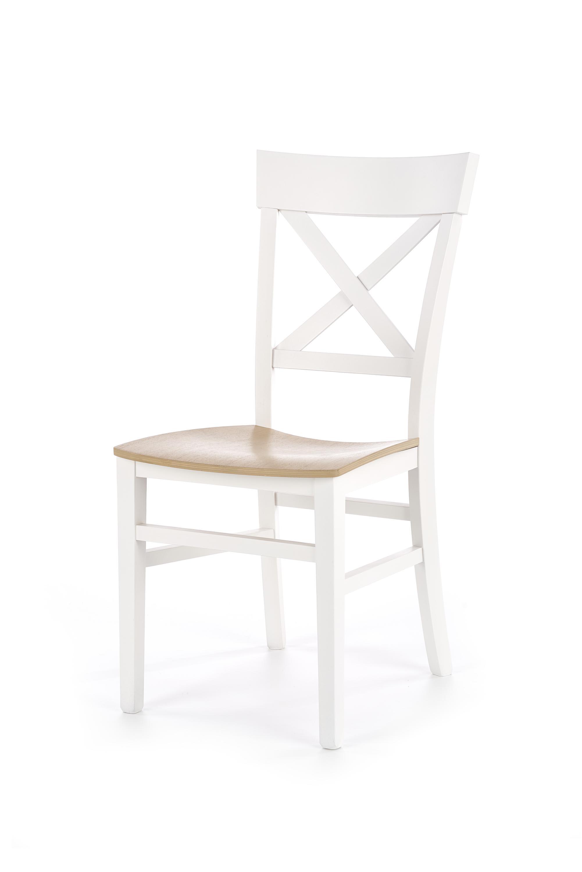 TUTTI krzesło biały / dąb miodowy (1p=2szt)