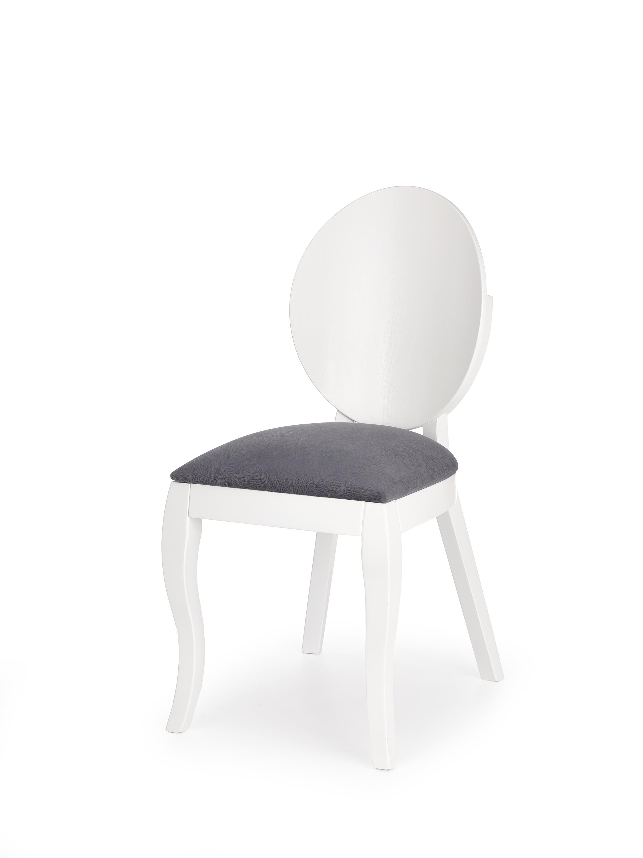 VERDI krzesło biało-popielate (1p=2szt)