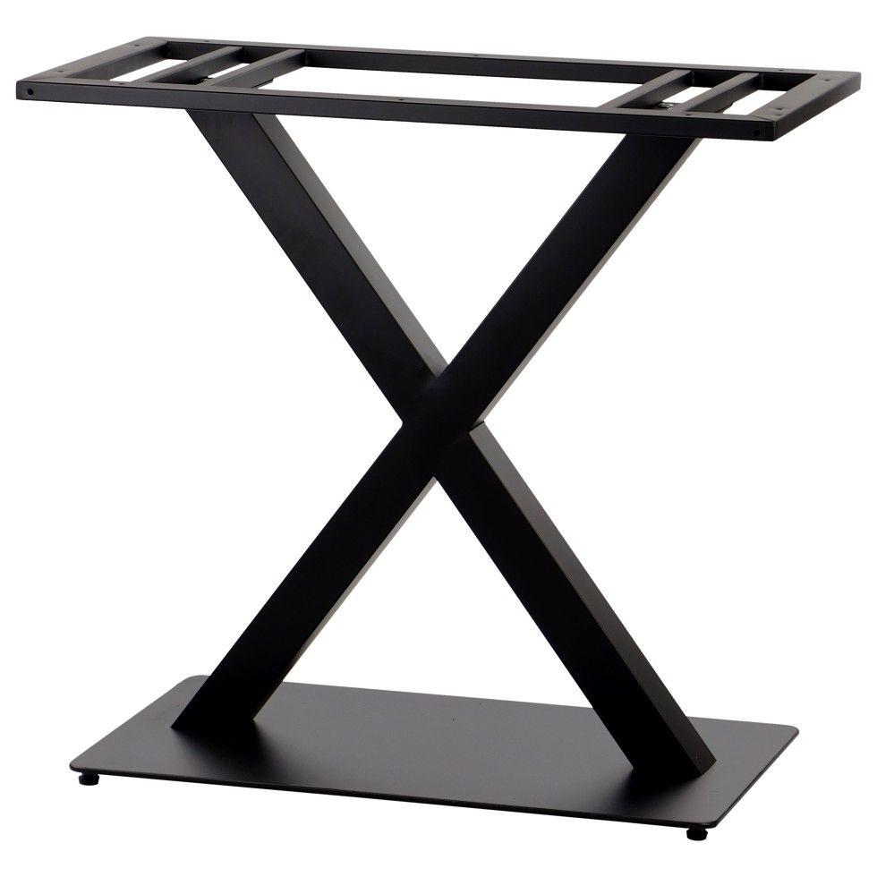 Podstawa podwójna do stolika EF-SH-3007-2/B - wysokość 73 cm 69,5x39,5 cm