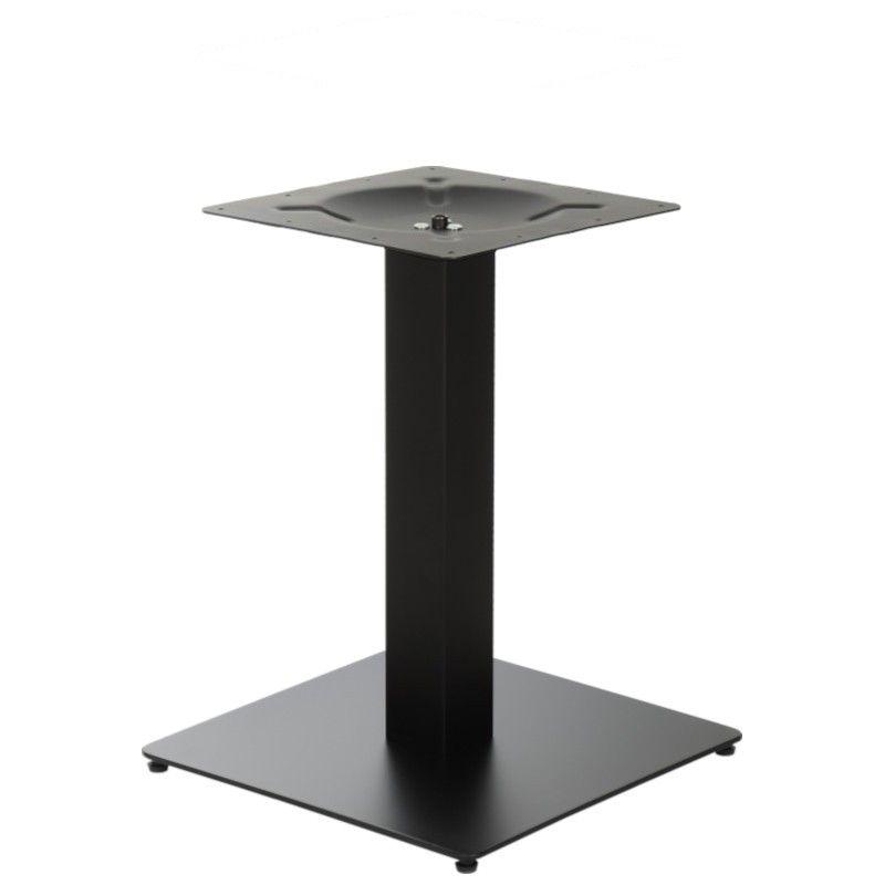 Podstawa do stolika EF-SH-5002-5/L/B czarna - wysokość 57,5 cm 45x45 cm