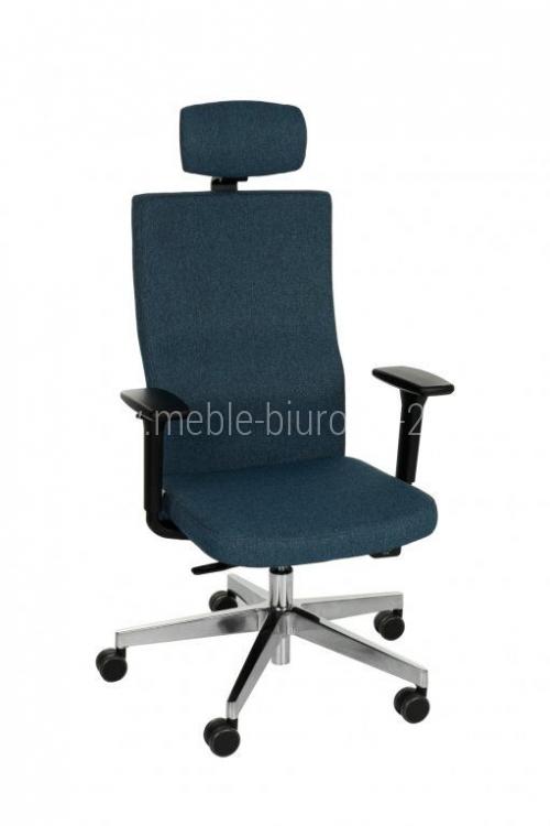 Fotel Biurowy obrotowy TEAM PLUS CHROME HD - różne tapicerki