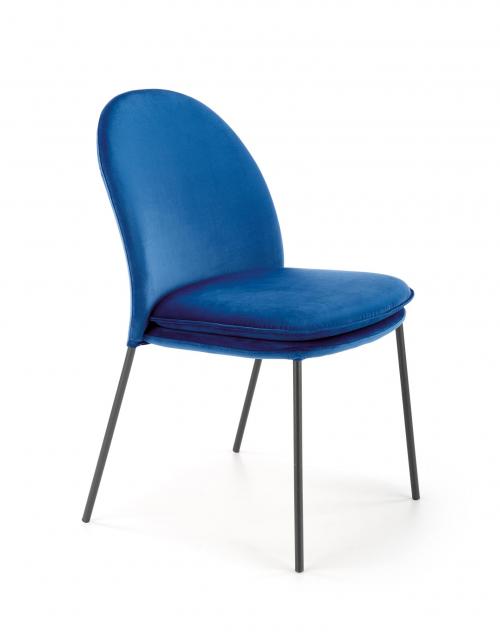 K443 krzesło granatowy