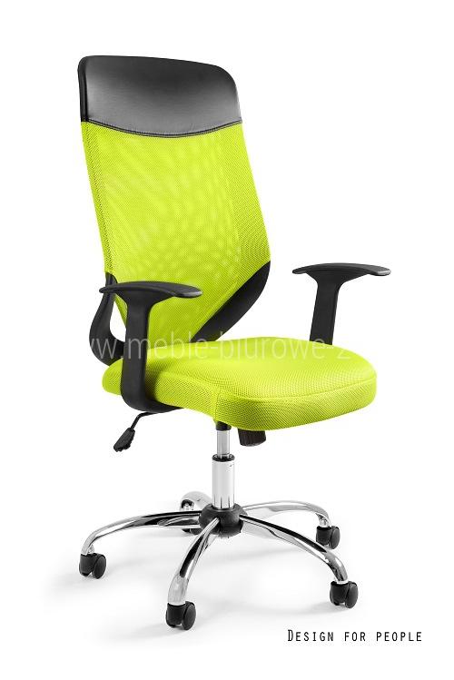 Fotel biurowy MOBI PLUS - ZIELONY