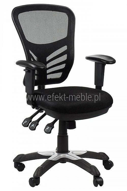 Fotel Biurowy Obrotowy EF-HG0001 czarny