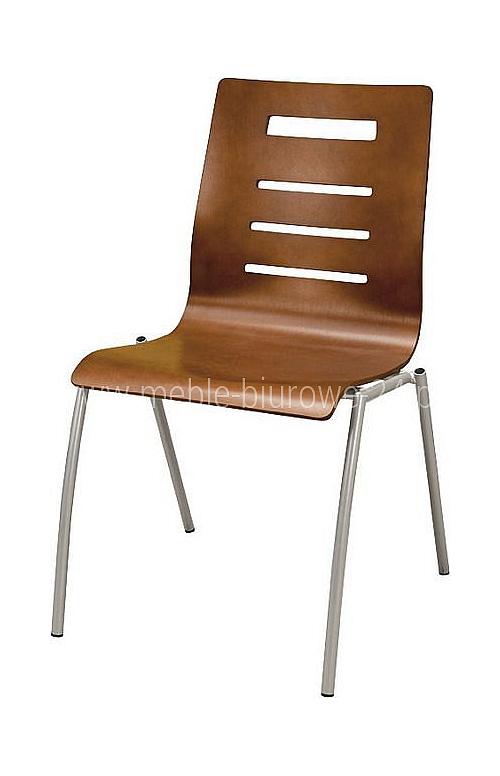 Krzesło konferencyjne Irys A Wood Lux
