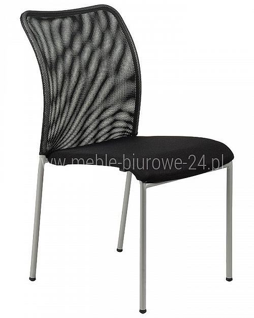 Krzesło EF-HN7502 alu/czarny