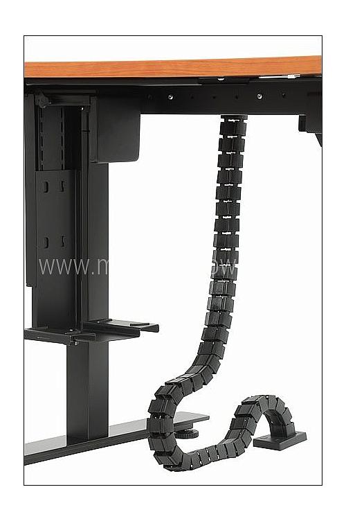 Pionowy kanał kablowy EF-ST-KPI-01 czarny