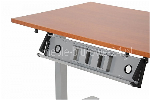Poziomy kanał kablowy EF-ST-KPZ-01 aluminium