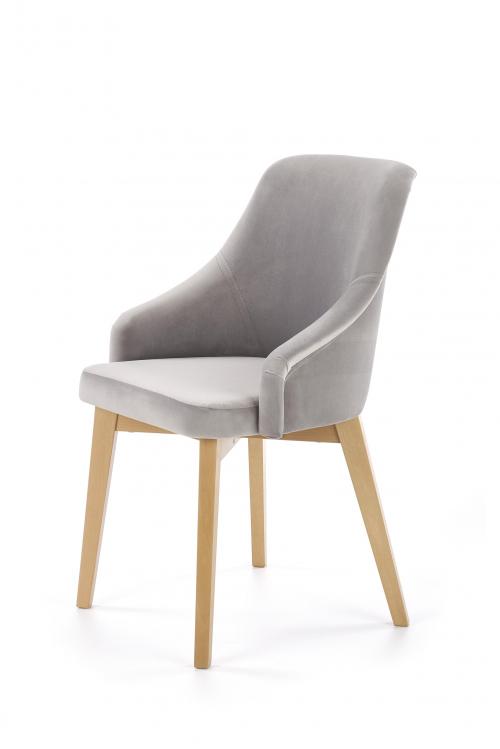 TOLEDO 2 krzesło dąb miodowy / tap. Solo 265 (1p=1szt)