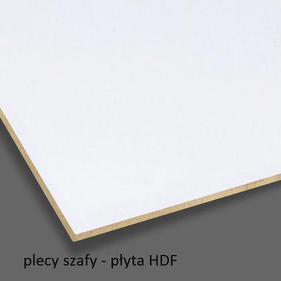 Szafa biurowa aktowa PS08W 40X39X220H - płyta HDF