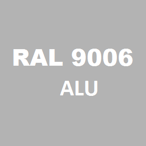 Stelaż metalowy do biurka lub stołu  ST/O/66 noga okrągła fi 5 głębokość 66 cm, różne długości - RAL 9006 - alu