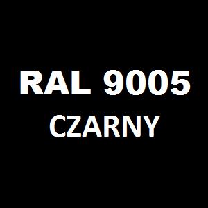 Stelaż metalowy do biurka lub stołu  ST/O/66 noga okrągła fi 5 głębokość 66 cm, różne długości - RAL 9005 - czarny