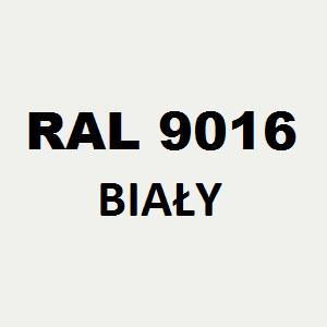 Stelaż metalowy do biurka lub stołu  ST/O/66 noga okrągła fi 5 głębokość 66 cm, różne długości - RAL 9016 - biały