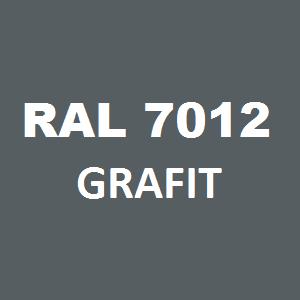 Stelaż metalowy do biurka lub stołu  ST/O/66 noga okrągła fi 5 głębokość 66 cm, różne długości - RAL 7012 - grafit