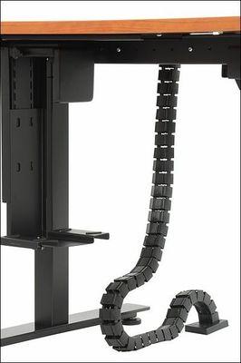 Stelaż elektryczny dwusilnikowy EF-A103-2/T2/B- czarny - Kanał pionowy