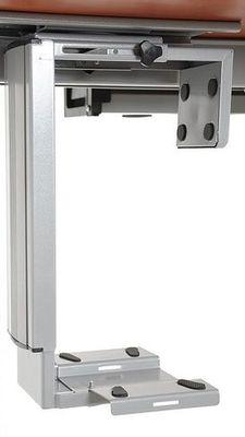 Stelaż elektryczny do stołu i biurka EF-STE-01T aluminium - regulacja wysokości - Półka podwieszana na komputer