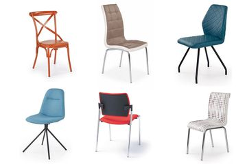 Krzesła na 4-nogach
