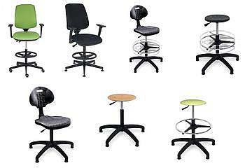 Krzesła Obrotowe Laboratoryjne