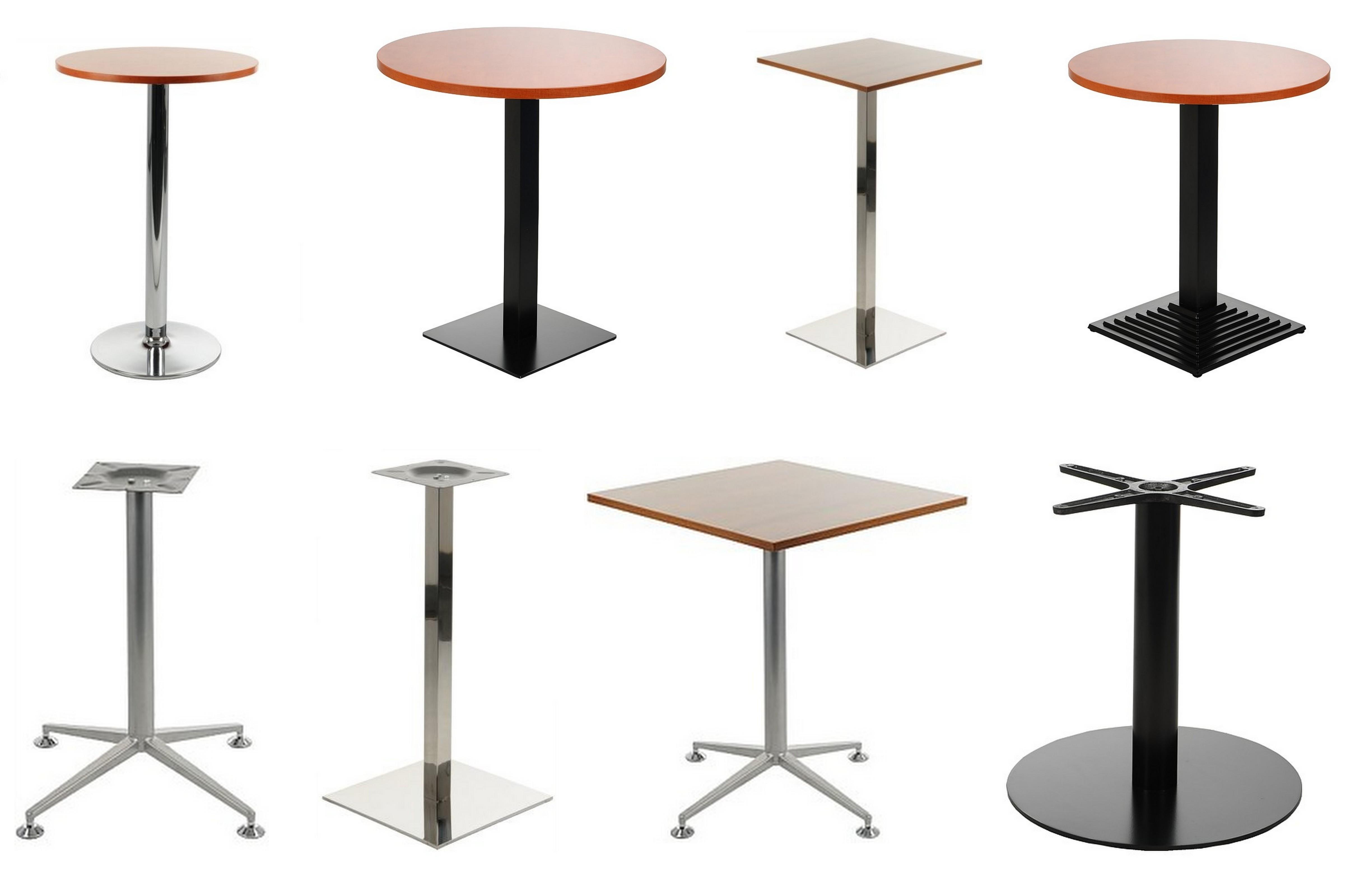 Podstawy stolików wysokość ok. 72cm