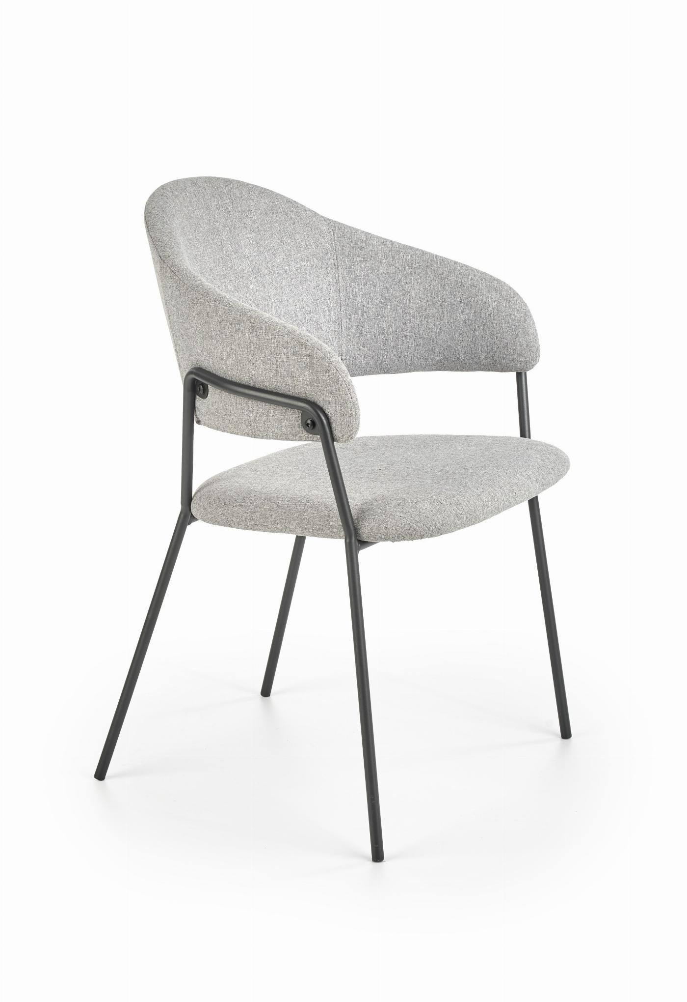 K359 krzesło popielaty
