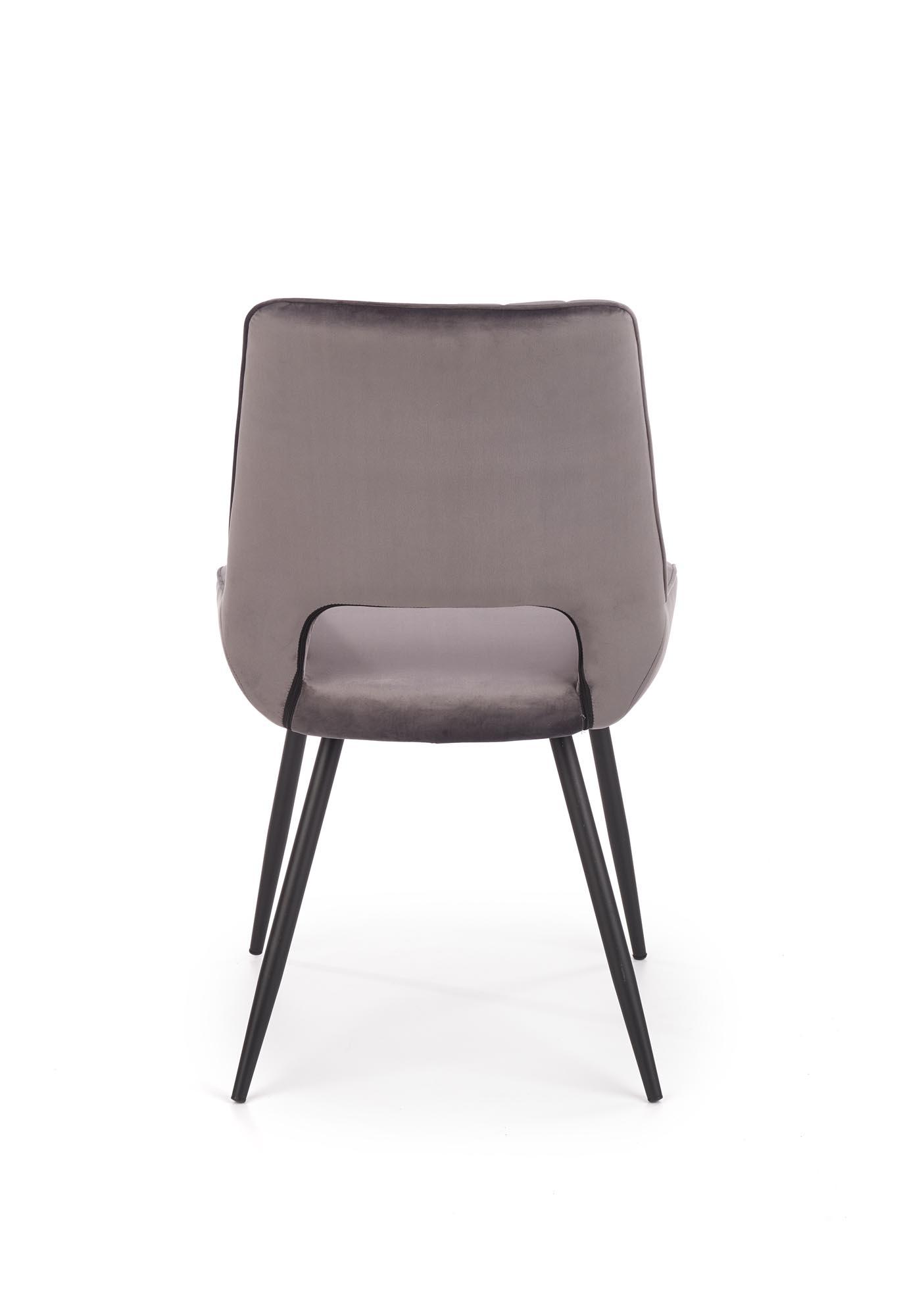 K404 krzesło popielaty