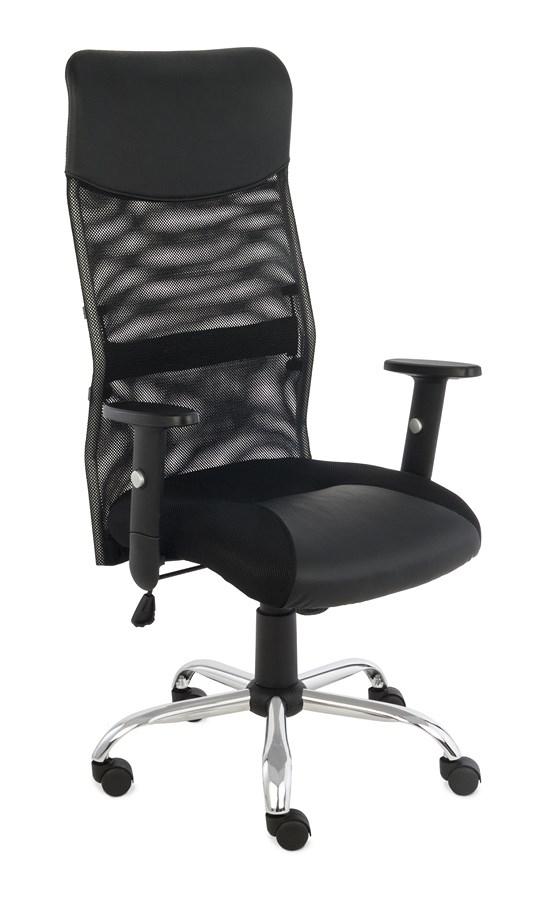 Krzesło obrotowe PLUS R CZARNY
