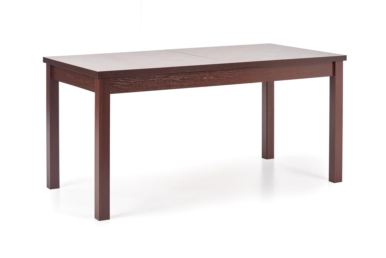 MAURYCY stół kolor ciemny orzech (2p=1szt)
