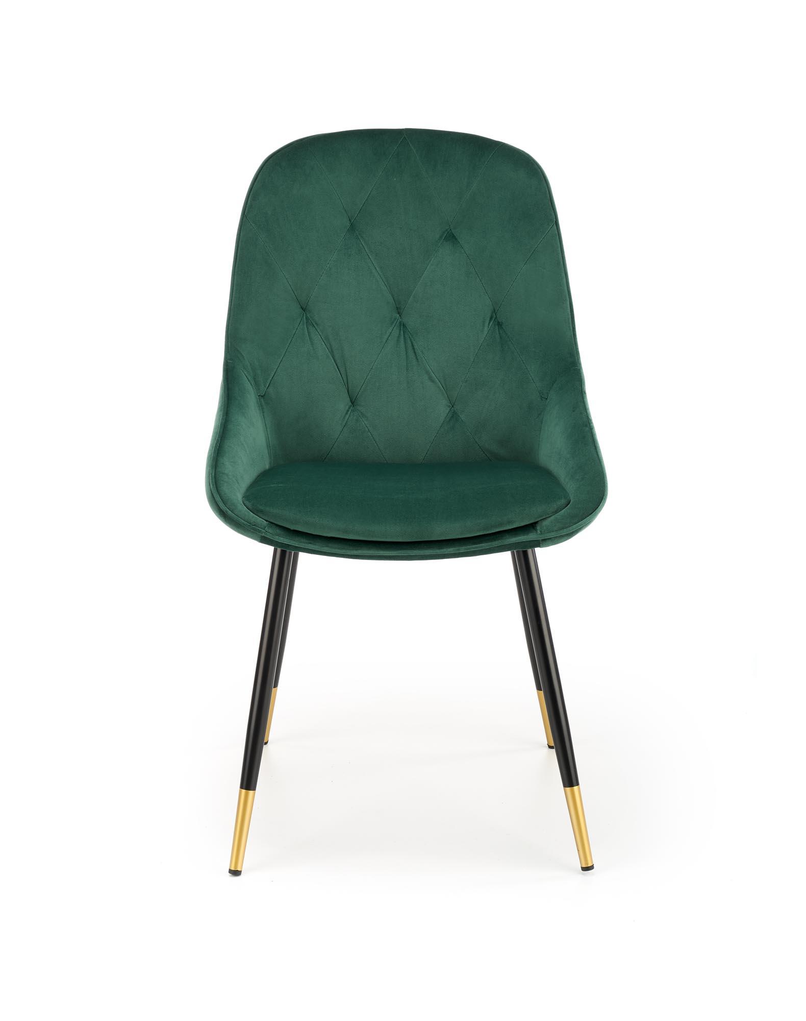 K437 krzesło ciemny zielony