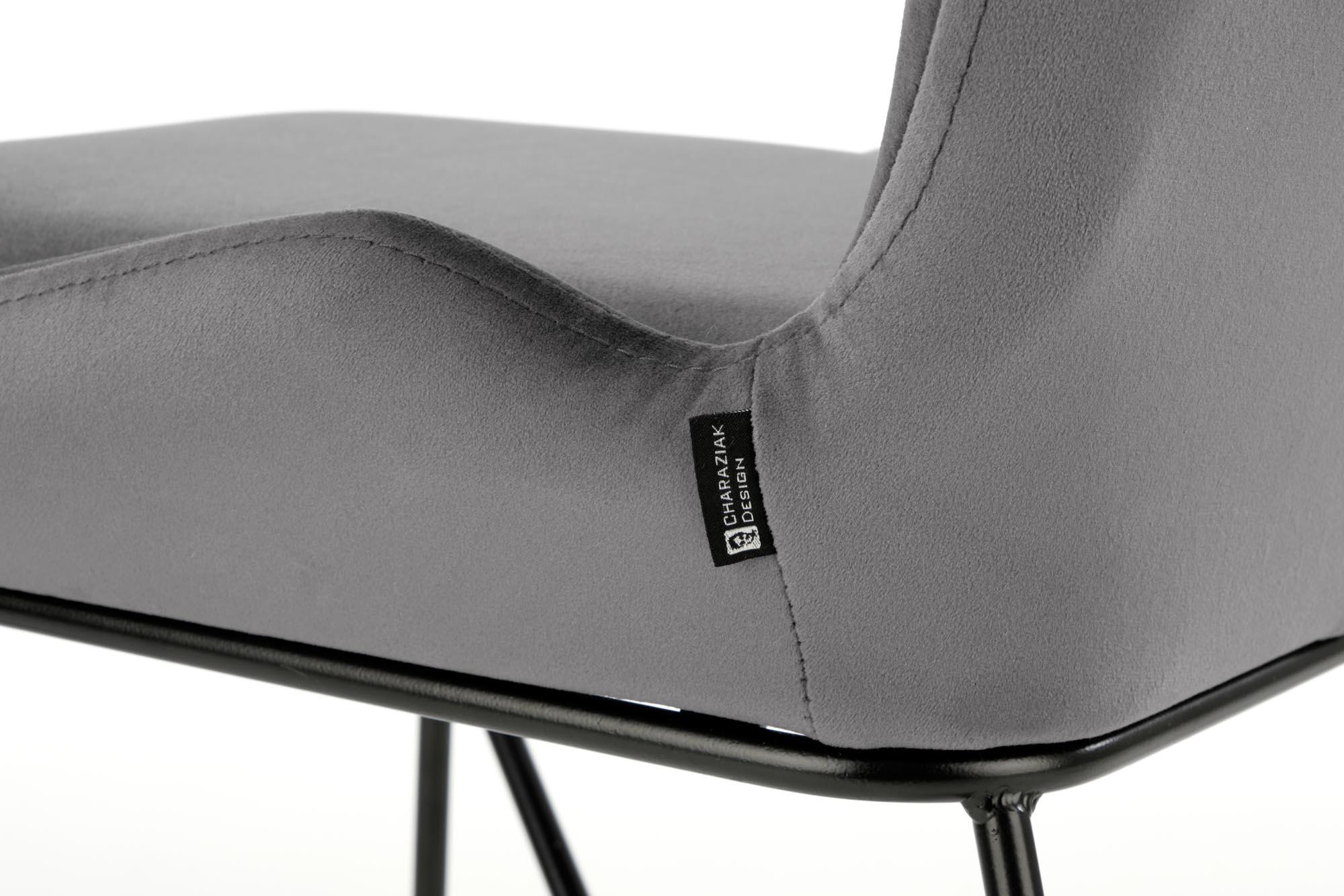 K454 krzesło, kolor: popielaty